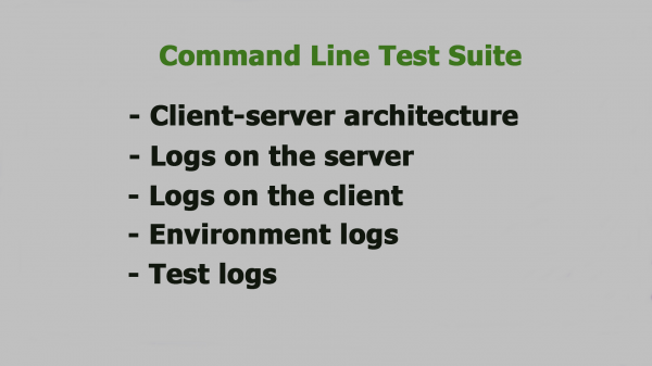 Using Command Line in Software QA Activities