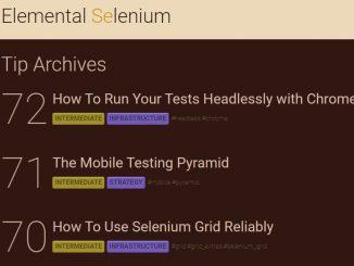 Selenium software testing timps