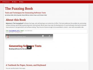 The Software Testing Fuzzing Book