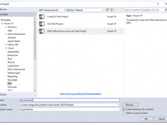 Load Testing with Visual Studio Team Service