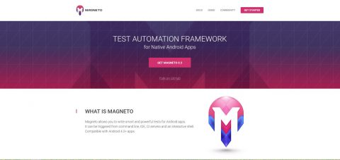 Magneto is an open source test automation framework for Android apps