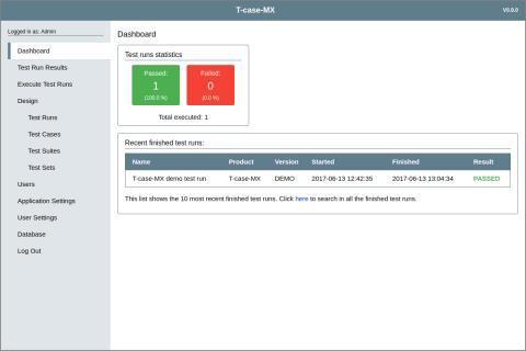 T-case-MX Open Source Test Management Tool