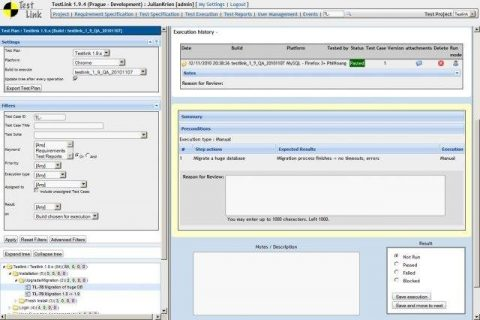 TestLink Open Source Test Management Tool
