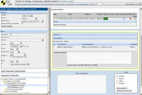 TestLink Open Source Test Management Tool