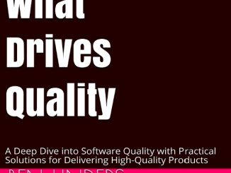 What Drives Software Quality